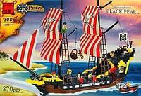 """BRICK 308 """"Пиратский Корабль"""" 870 дет., в коробке"""