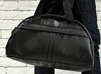 Спортивная сумка Jordan логотип черный  реплика, фото 1