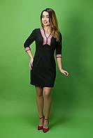 Вышитое платье ЖП-28, размер 44