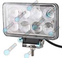 Доп LED Фары би-линза BELAUTO BOL0803LA (точечный amber) 24W