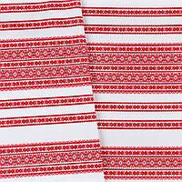 Декоративная красивая ткань вышитая национальным орнаментом ТД-59 1\1