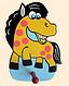 Детская вешалка «Лошадка», Funny Animals, фото 2