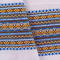 Декоративная качественная ткань вышитая национальным орнаментом ТД-17 (1)
