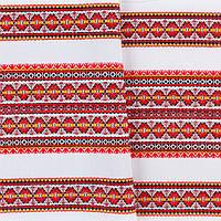 Декоративная красивая ткань с национальным орнаментом ТД-55 4\1