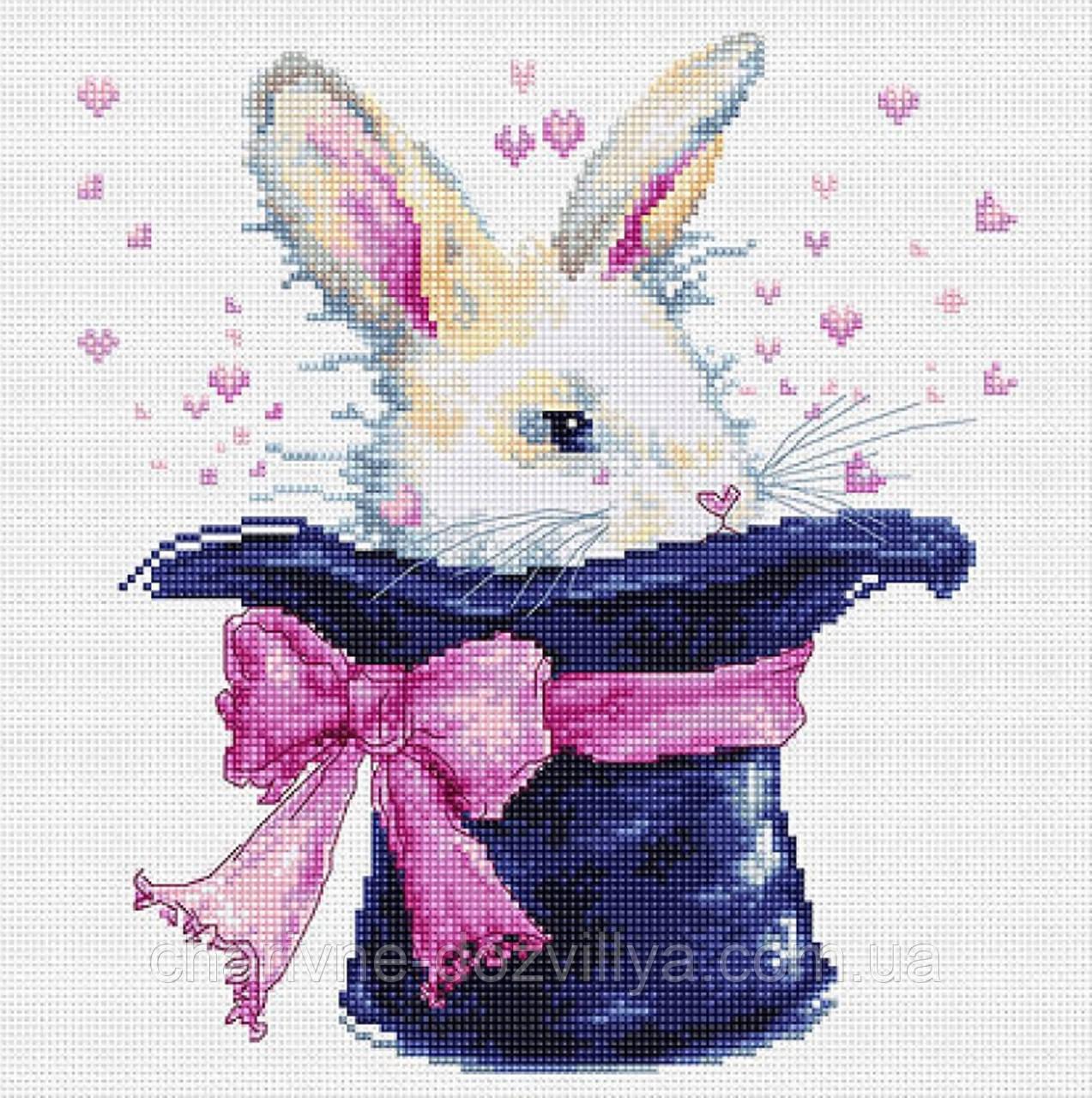 """Набір для вишивання хрестиком """"Кролик"""""""