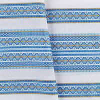 Декоративная красивая ткань с национальным орнаментом ТД-55 4\2