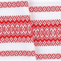 Красивая ткань декоративная с украинским орнаментом ТД-58 1\2