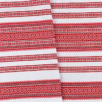 Декоративная красивая ткань вышитая национальным орнаментом ТД-59 2\1