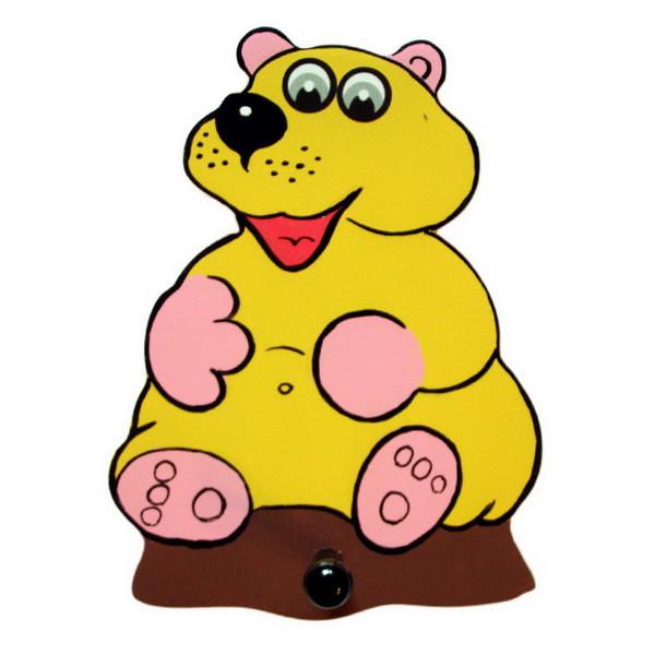 Детская вешалка «Медведь», Funny Animals