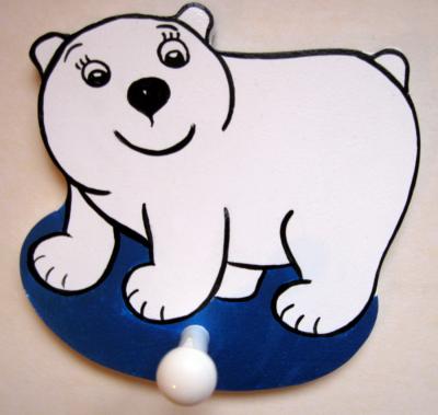 Детская вешалка «Медвежонок», Funny Animals