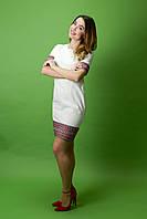 Красивое вышитое платье ЖП-33, размер 46