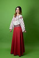 Стильный костюм в украинском стиле ЖК-68, размер 48