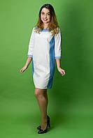 Вышитое красивое платье ЖП-34, размер 52