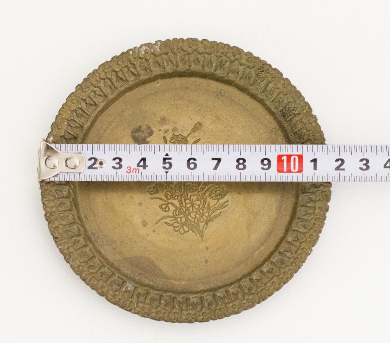 Коллекционная бронзовая тарелка, бронза, Германия, SKS