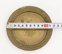 Коллекционная бронзовая тарелка, бронза, Германия, SKS, фото 1