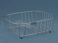 Корзина UKINOX SB 370 металическая из нержавеющей стали для сушки посуды к кухонной мойки, фото 1