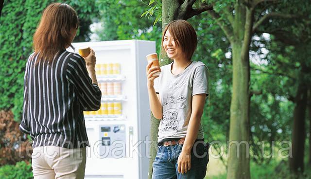 Торговые автоматы Торговые автоматы для продажи напитков и продуктов питания используются на заводах, в офисных зданиях, на вокзалах, в аэропортах и т.д.