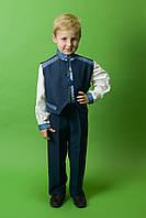 Костюм детский вышитый ЧК-13, размер 38