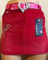 Детские юбки вилветовые , фото 1