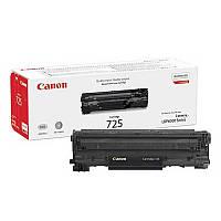 Заправка чёрного картриджа Canon 725