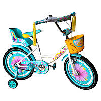 Детские двухколесные велосипеды Азимут Гел на 14,16,18, 20 д Azimut Girls для девочек
