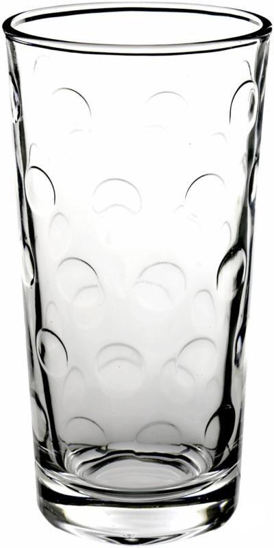 Набор высоких стаканов PΟΡ 250мл 6шт.