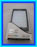 Сонячне зарядний пристрій Power Bank 90000 mAh з потужним ліхтариком 20 LED для зарядки 2 гаджетів