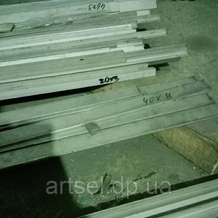 Полоса нержавеющая 40х8 AISI304