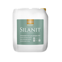 Силиконмодифицированный гидрофобизирующий и укрепляющий грунт Silanit Колорит 2 л