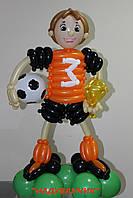Футболіст з повітряних кульок