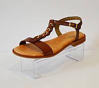 Женские коричневые босоножки Presso 14069