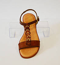 Женские коричневые босоножки Presso 14069, фото 2