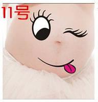 Веселые наклейки на беременный животик для фотосессии №11, Китай