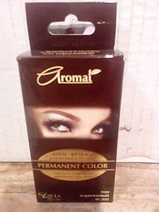 Крем-краска для брів та вій тон коричневий (код відтінку 200)