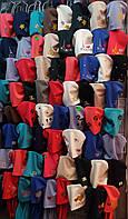 Модные трикотажные шапки для девочек объем 50-54 см ST216