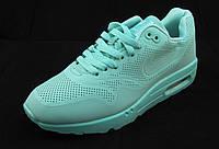 Кроссовки Nike Air Max бирюзовые женские(р.37,39)
