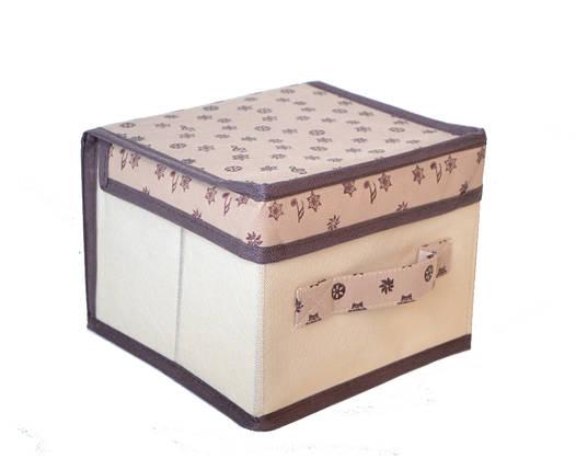 Короб для хранения вещей Melody 20*20*15 см, Design Line (Украина) 62123, фото 2