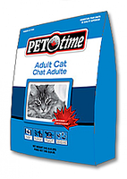PET TIME Adult cat food 7 кг
