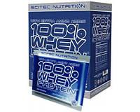 Scitec Nutrition 100% Whey Protein 30 пак х 30 г