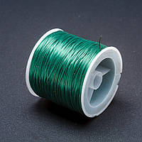 Резинка для рукоделия катушка Зеленый L-50м