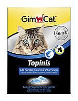 Витамины Gimcat Topinis Forelle для кошек с форелью, 190 шт