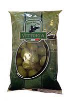 Оливки зеленые ,Vittoria,Италия 500г