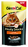 Лакомство Gimcat Meaty Snacks Chicken для кошек с курицей, 35 г