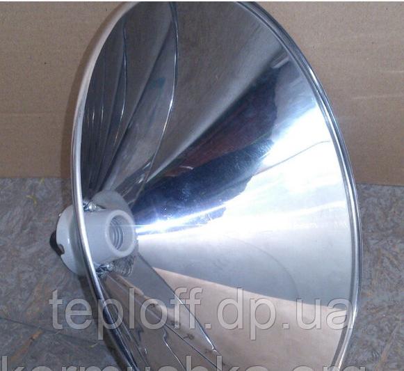 Плафон для инфракрасной (керамической) лампы, зеркальный, 50% экономия эл. энергии - Teploff в Днепропетровской области