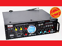 Усилитель звука Opera AV-339A + USB + Fm + Mp3 + КАРАОКЕ, фото 1