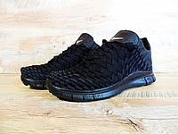 Кроссовки мужские Nike Free Run Inneva Woven D131 черные