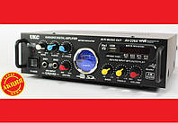 Усилитель звука UKC AV-339A + USB + Fm + Mp3 + КАРАОКЕ + Bluetooth, фото 1