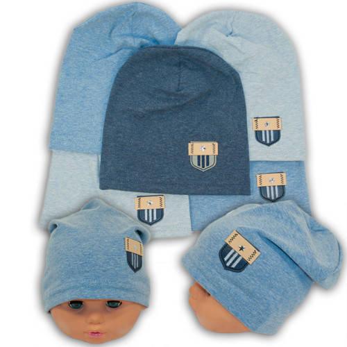 Детские шапки из трикотажа, 739