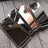 Силиконовый зеркальный чехол с вырезом под яблочко для iPhone 6/6s, фото 2