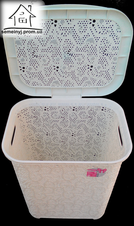 пластиковая корзина для белья
